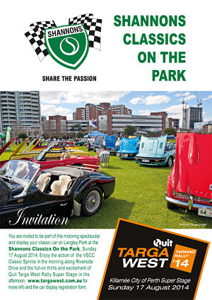 Shannons Classics on the Park Flyer